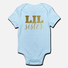 Gold Foil Lil Sister Body Suit