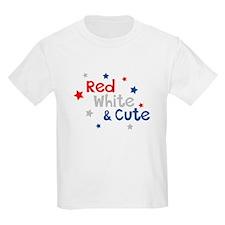 Red, White & Cute T-Shirt