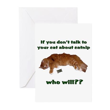 Catnip Greeting Cards (Pk of 20)