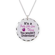 It's A Pretty Little Liars T Necklace