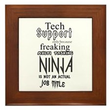 Ninja Framed Tile