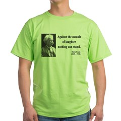 Mark Twain 22 Green T-Shirt