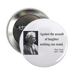 """Mark Twain 22 2.25"""" Button"""