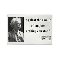 Mark Twain 22 Rectangle Magnet (100 pack)