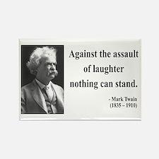 Mark Twain 22 Rectangle Magnet