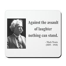 Mark Twain 22 Mousepad