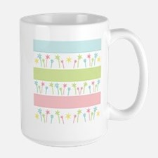 Palm Coast Stripes Large Mug Mugs