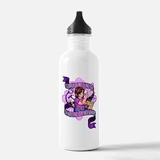 Not Sorry Water Bottle