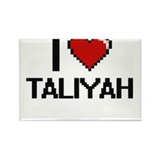 I Love Taliyah Digital Retro Design Magnets