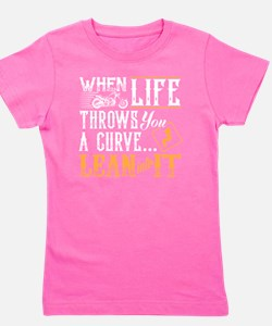lean into it Girl's Tee