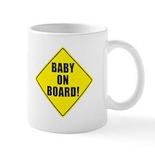 BABY ON BOARD Mugs