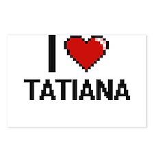 I Love Tatiana Digital Re Postcards (Package of 8)