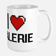 I Love Valerie Digital Retro Design Mugs