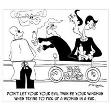 Dating Cartoon 9254 Poster