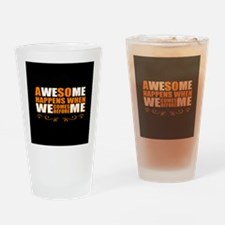 Business saying Drinking Glass