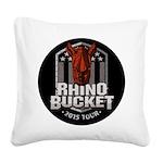 Rhino Bucket 2015 Square Canvas Pillow