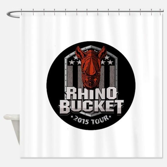 Rhino Bucket 2015 Shower Curtain
