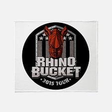 Rhino Bucket 2015 Throw Blanket