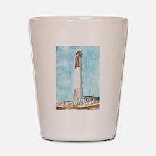 Oak Island Lighthouse Shot Glass
