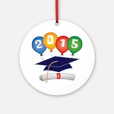 2015 Grad Ornament (Round)