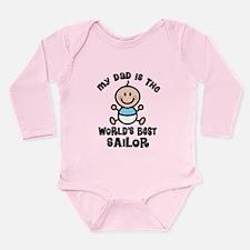Sailor Dad Long Sleeve Infant Bodysuit
