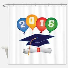 2016 Grad Shower Curtain