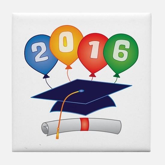 2016 Grad Tile Coaster