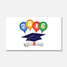2016 Grad Car Magnet 20 x 12