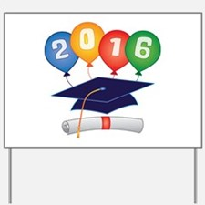 2016 Grad Yard Sign