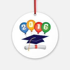 2016 Grad Ornament (Round)