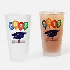 2016 Grad Drinking Glass