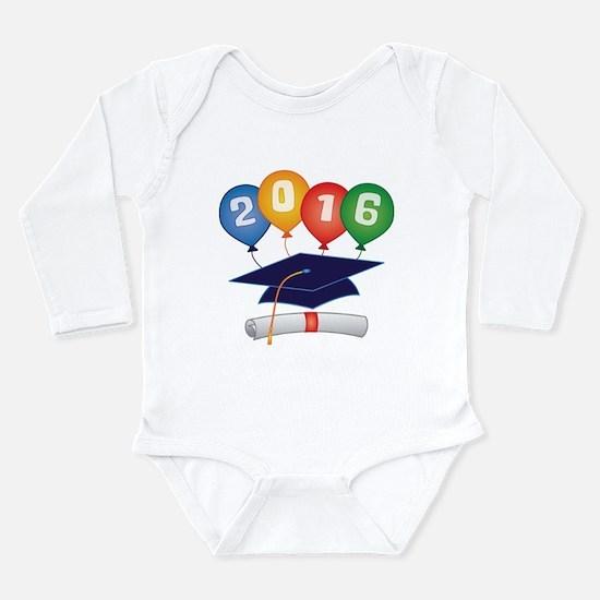 2016 Grad Long Sleeve Infant Bodysuit