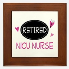 Retired NICU Nurse Framed Tile