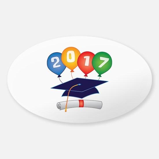 2017 Grad Sticker (Oval 10 pk)