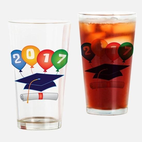 2017 Grad Drinking Glass