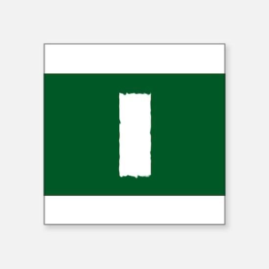"""Unique Blaze Square Sticker 3"""" x 3"""""""