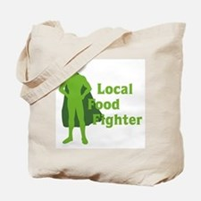 Local Food Fighter Tote Bag