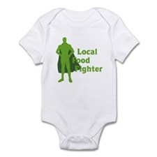 Local Food Fighter Infant Bodysuit