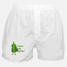 Local Food Fighter Boxer Shorts
