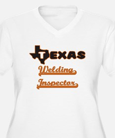 Texas Welding Inspector Plus Size T-Shirt