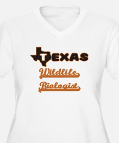 Texas Wildlife Biologist Plus Size T-Shirt