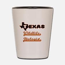 Texas Wildlife Biologist Shot Glass