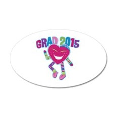 Funky Grad 2015 Wall Decal