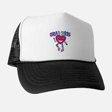 Funky Grad 2015 Trucker Hat