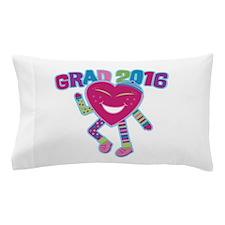 Funky Grad 2016 Pillow Case