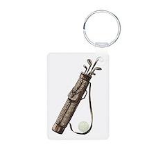 Vintage Golf Bag Keychains