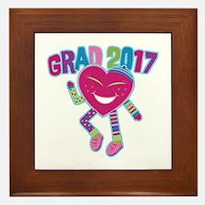 Funky Grad 2017 Framed Tile