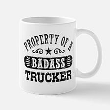 Property of a Badass Trucker Mug