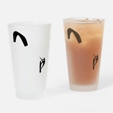 Kite Surfing Drinking Glass