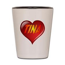 Tina Heart Shot Glass